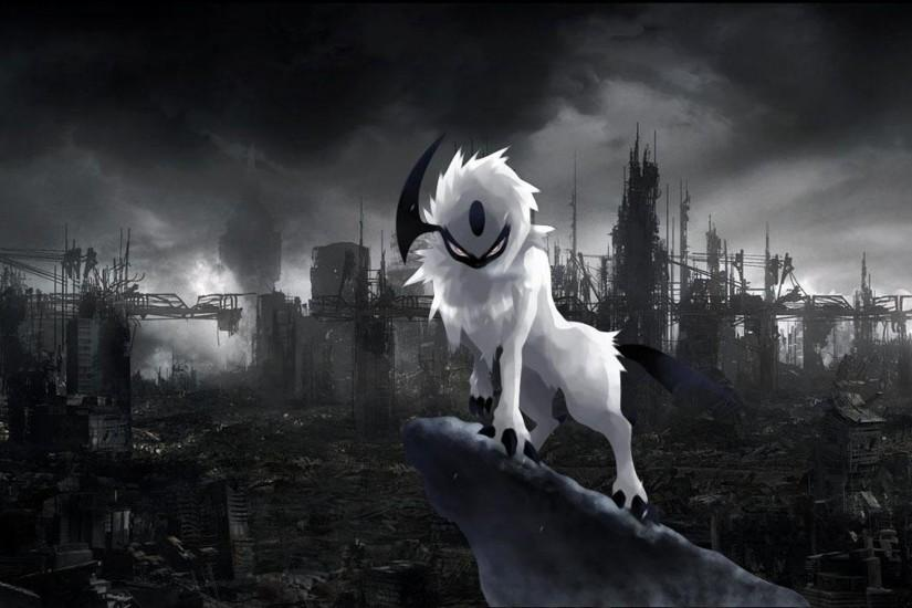 Absol Pokemon HD Wallpaper.