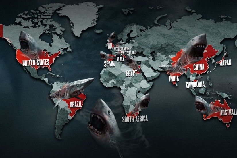 3 Fanarts / Wallpapers. Sharknado 5: Global Swarming