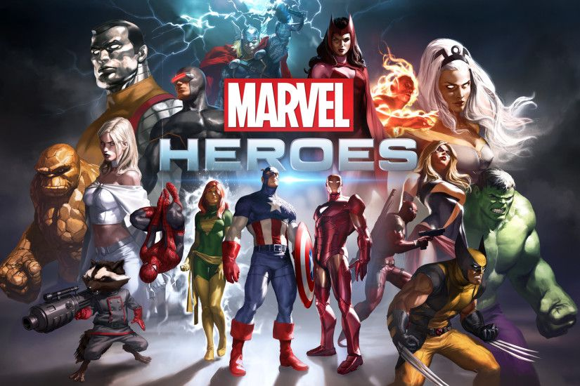 Marvel Heroes Game