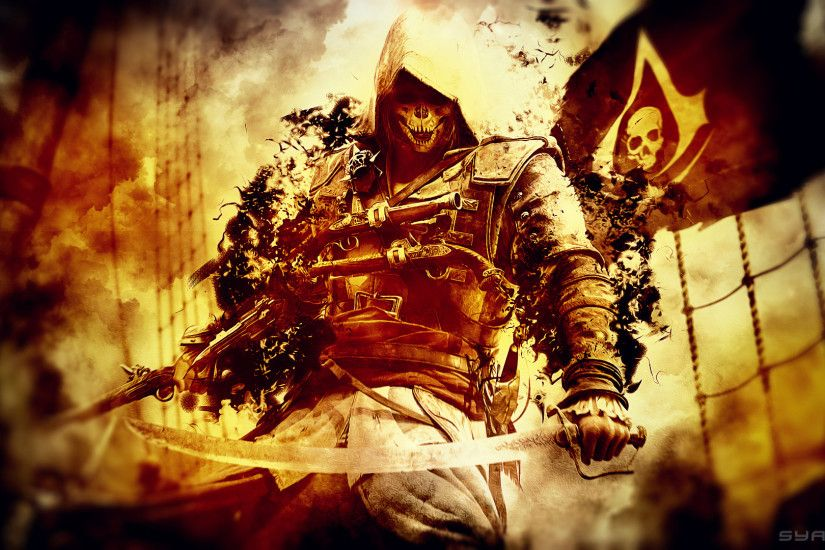 Wallpapers Assassin\\'s Creed 4 : Black Flag (category Wallpaper .