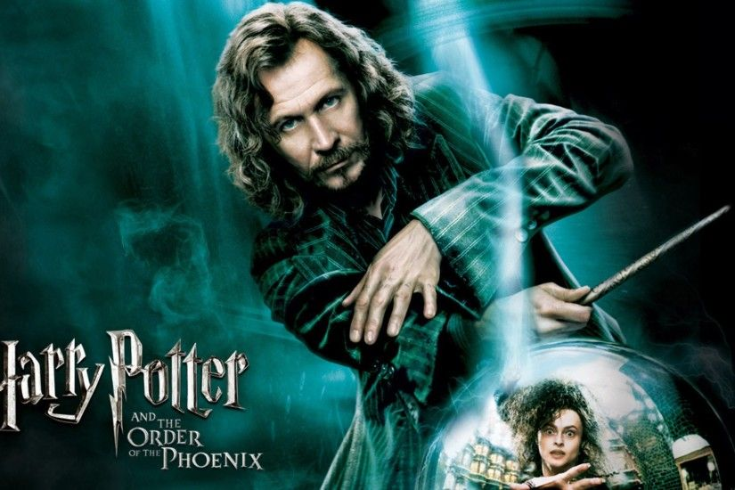 movies, Harry Potter And The Order Of The Phoenix, Sirius Black, Bellatrix  Lestrange, Gary Oldman, Helena Bonham Carter Wallpapers HD / Desktop and  Mobile ...