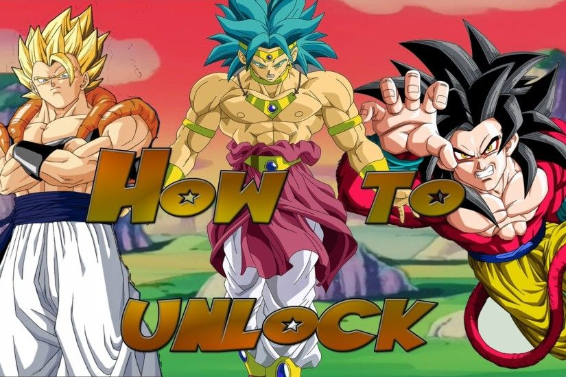 Dragonball Budokai 3 (HD Collection) How to Unlock: SSJ4 Goku, Super Gogeta  & LSSJ Broly - YouTube