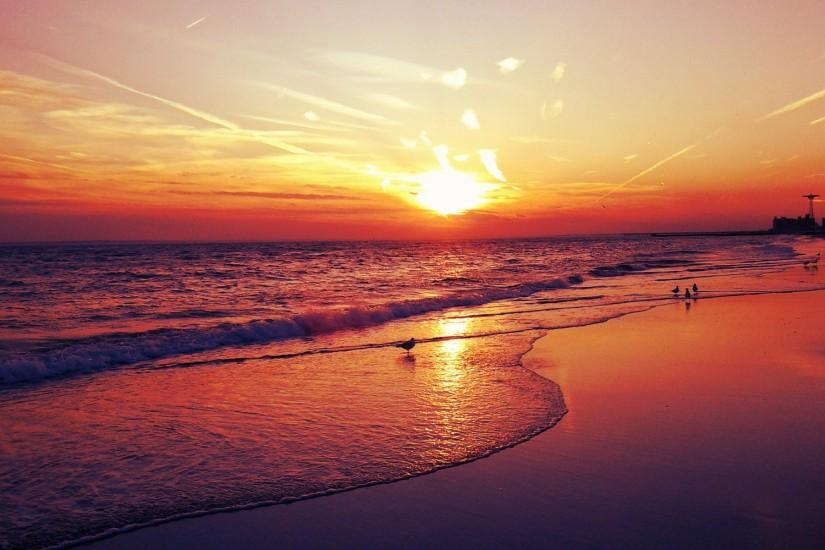 HQ Wallpapers Plus provides different size of Beach Sunset Wallpapers For  iPhone. You can easily