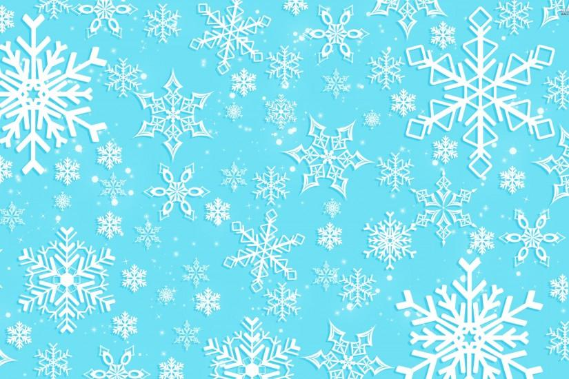 new snowflake background 2880x1800