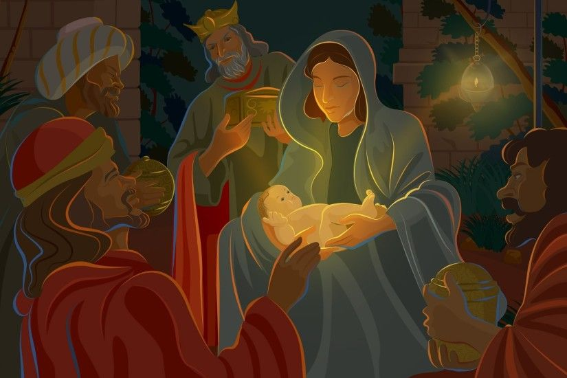 Nativity scene Collages Abstract Background Wallpapers on Nativity Scene  Desktop Wallpapers Wallpapers)