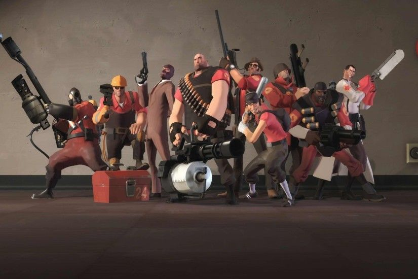 Team Fortress 2 Desktop Wallpapers