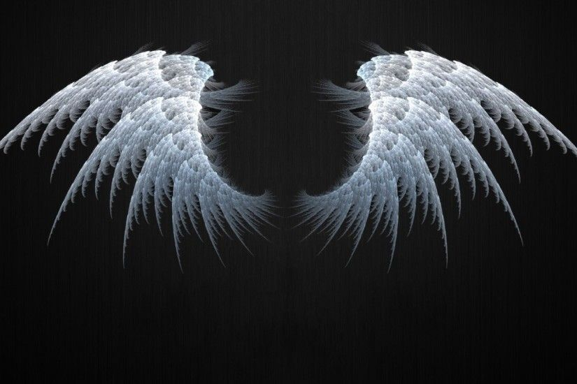 1920x1080 Angel Wings Fractal. How to set wallpaper on your desktop? Click  the download link from above and set the wallpaper on the desktop from your  OS.