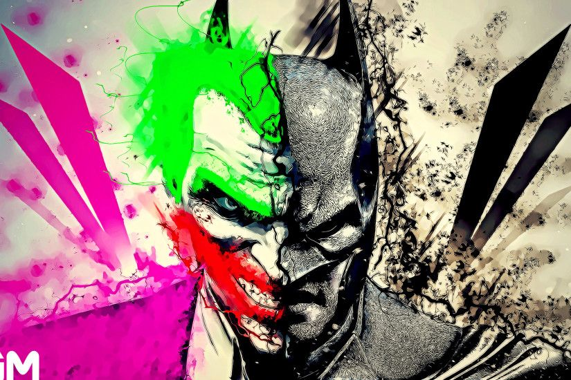 ... GraphicalManiacs An Attempt on Batman vs Joker Mashup =) by  GraphicalManiacs