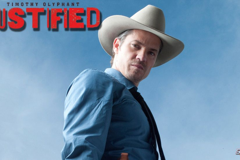 Here's another Justified wallpaper ...