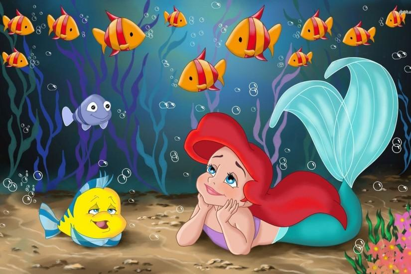 Cute Little Mermaid Wallpaper for Desktop (3)