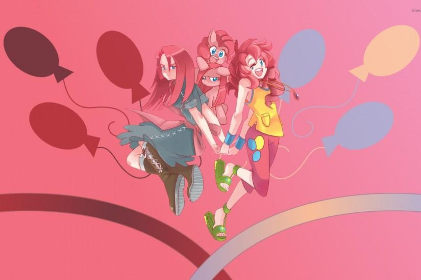 Pinkie Pie and her equestria girl wallpaper 1920x1200 jpg