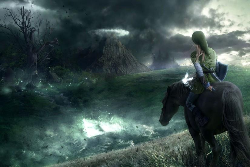 The legend of zelda game hd wallpaper 1920x1080.