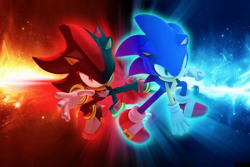 wallpaper.wiki-Sonic-and-Shadow-Wallpaper-by-SonicTheHedgehogBG-