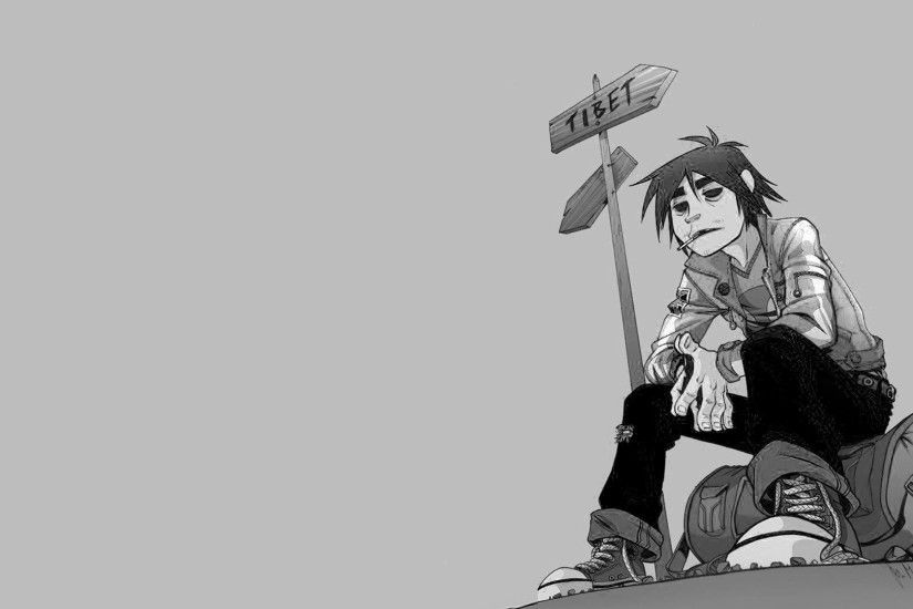 ... Wallpaper Abyss Noodle - Gorillaz 888605 - WallDevil
