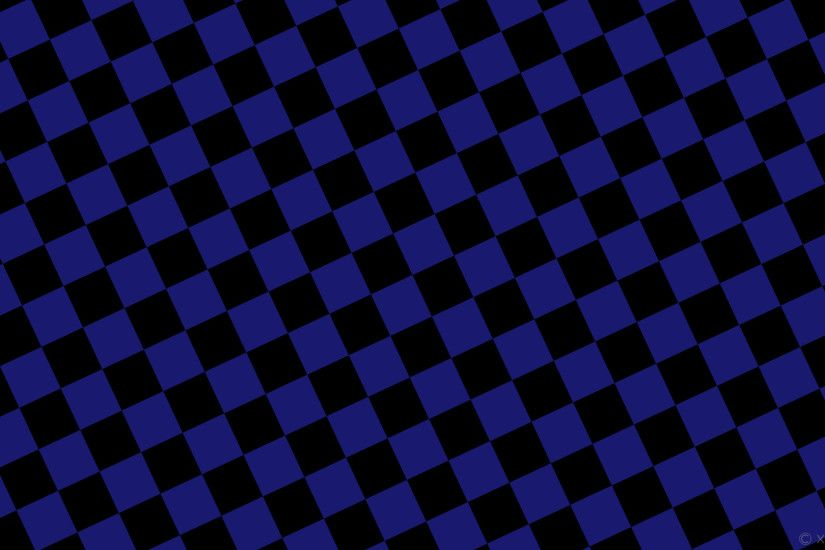 wallpaper black blue checkered squares midnight blue #000000 #191970  diagonal 25° 90px