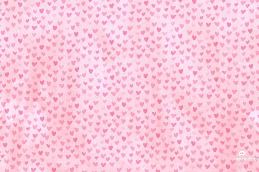 Wallpapers For > Pink Hearts Background Wallpaper