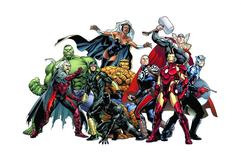 Marvel characters wallpaper