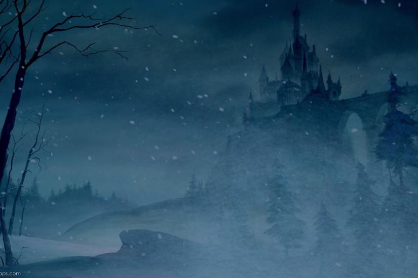 beauty and the beast castle background - Google Search
