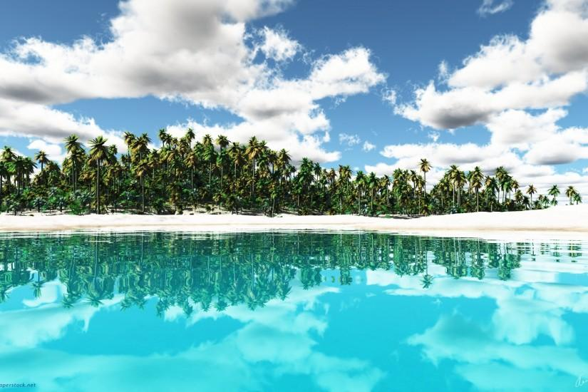 1920x1200 Tropical Island desktop PC and Mac wallpaper