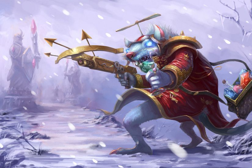 Whistler Village Twitch Splash Art Old League of Legends Artwork Wallpaper  lol