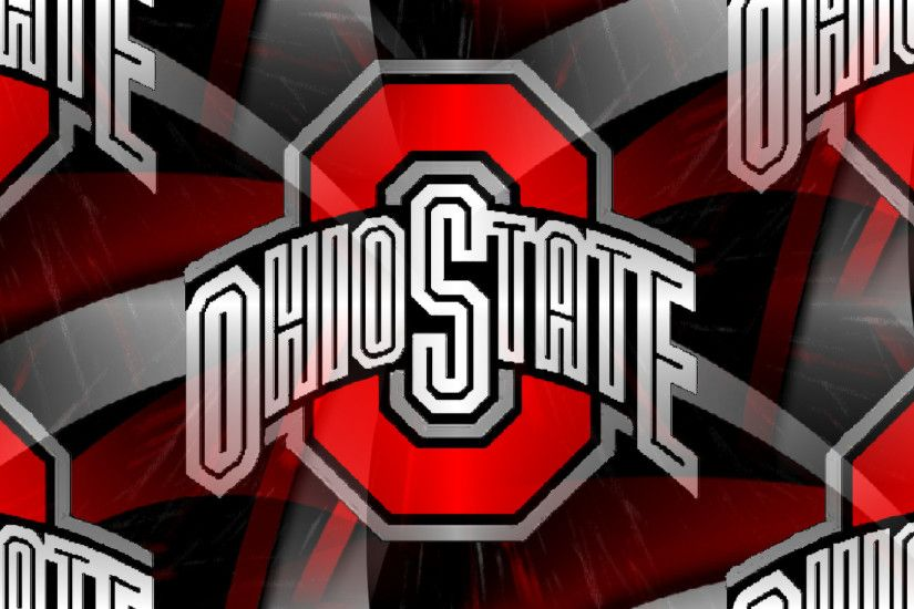 Ohio State Buckeyes images RED BLOCK O WHITE OHIO STATE ON AN ABSTRACT HD  wallpaper and background photos