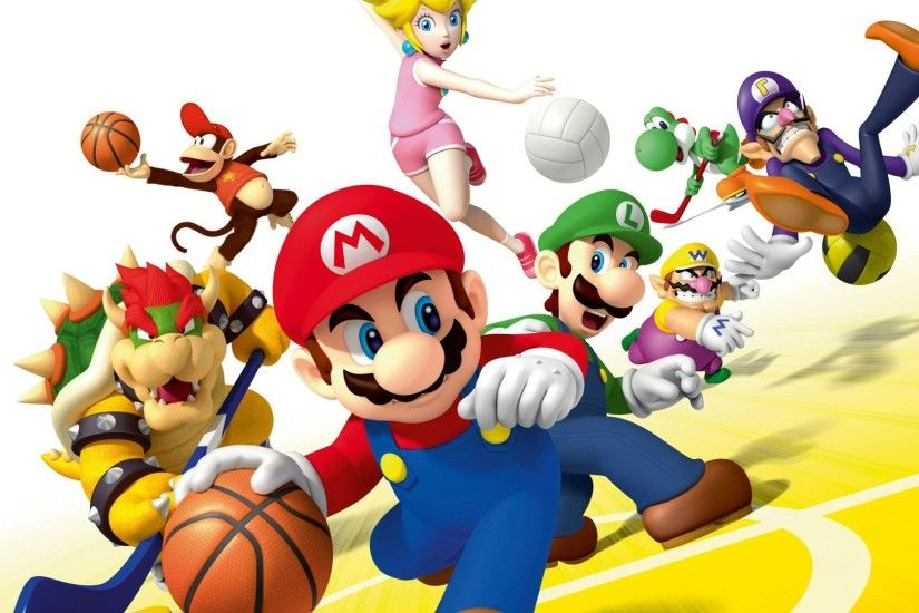 ... mario sports mix wallhd download hd background wallpapers free ...