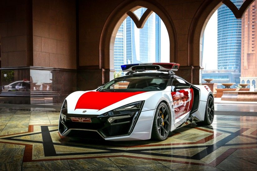 Tags: Lykan HyperSport, Police Car ...