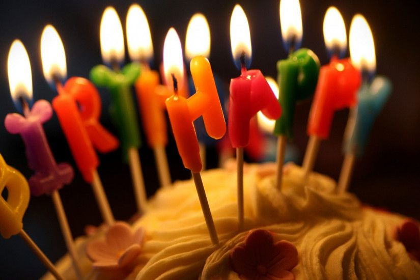 hd pics photos attractive happy birthday cake candles fire close up hd  quality desktop background wallpaper