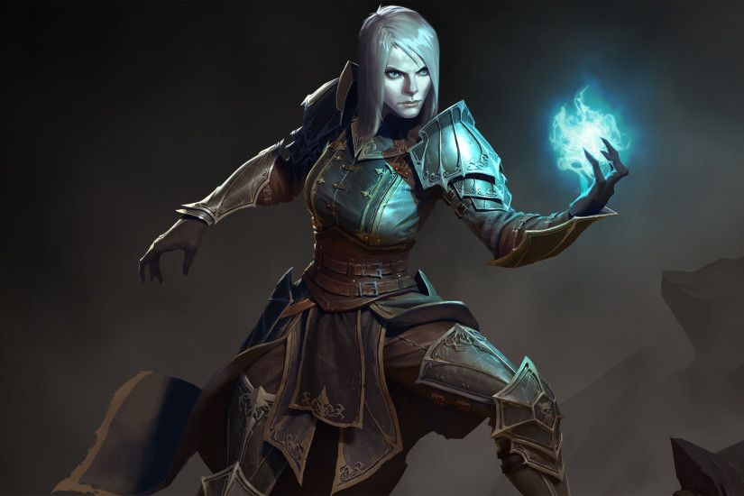 Download Wallpaper · DiabloNecromancer