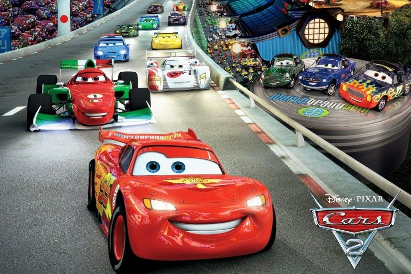 ... Lightning McQueen in Cars 2 Wallpapers | HD Wallpapers ...