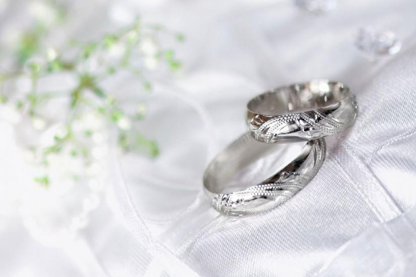Wedding Rings White Gold Wallpaper Wide or HD | Photography Wallpapers