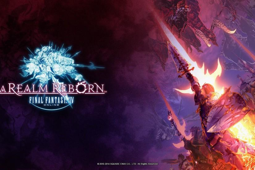New Final Fantasy XIV: A Realm Reborn Illustrations Make for Perfect  Wallpapers