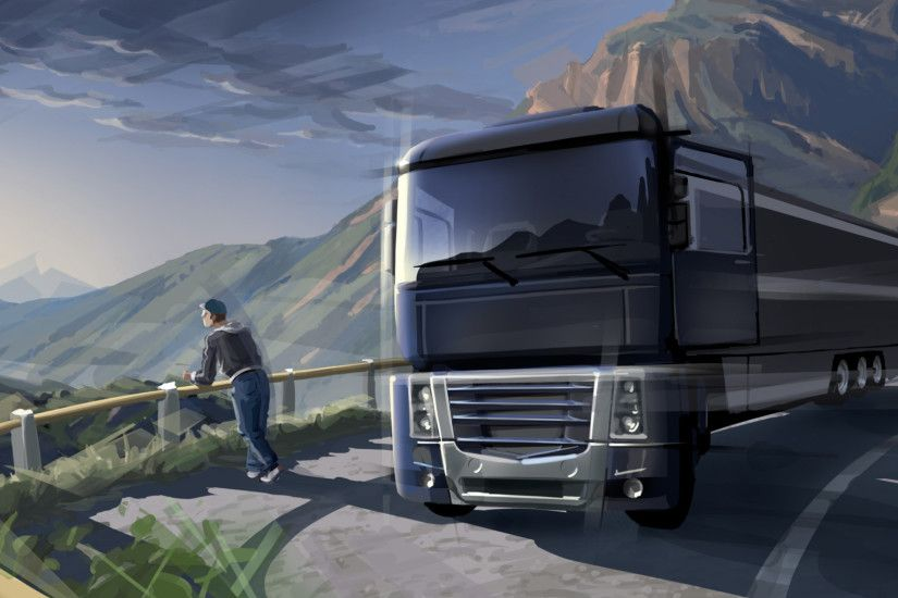 Video Game - Euro Truck Simulator 2 Wallpaper