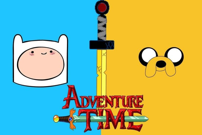 Finn and Jake 3D drawing - Adventure Time Wallpaper (1904x1190 .