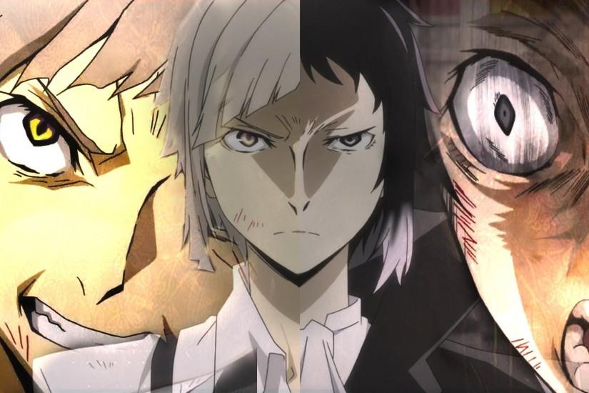 Bungou Stray Dogs images Atsushi and Dazai HD wallpaper and background  photos