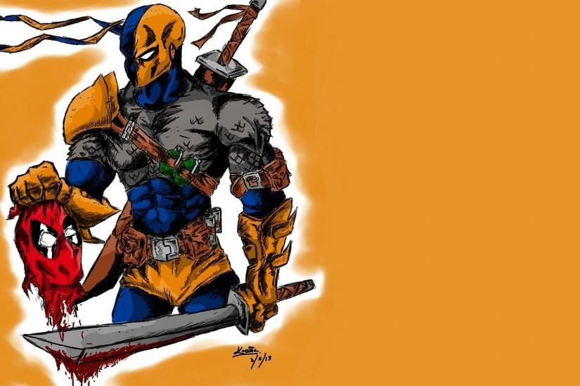 download free deathstroke wallpaper 1920x1080 high resolution