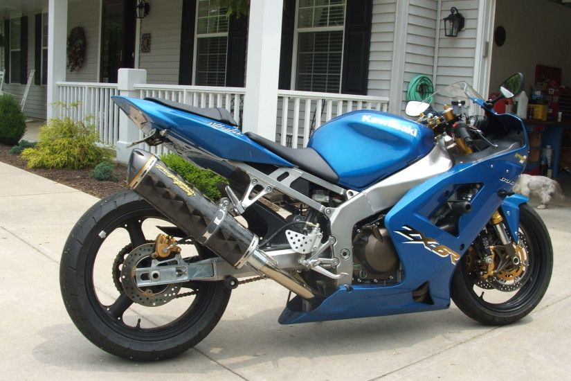 2003 Kawasaki ZX 6R picture, mods, upgrades