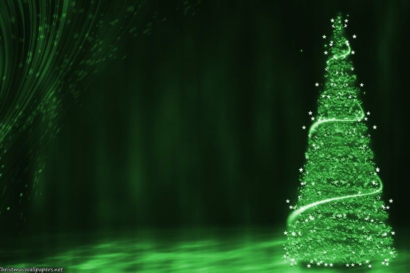 Green Christmas Background (10)