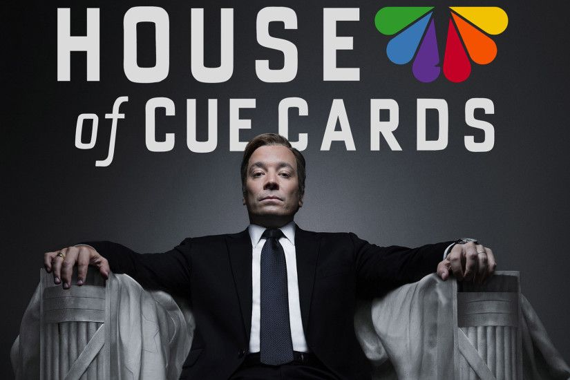 Jimmy Fallon's 'House of Cue Cards' is perfect parody of Netflix hit -  TODAY.com