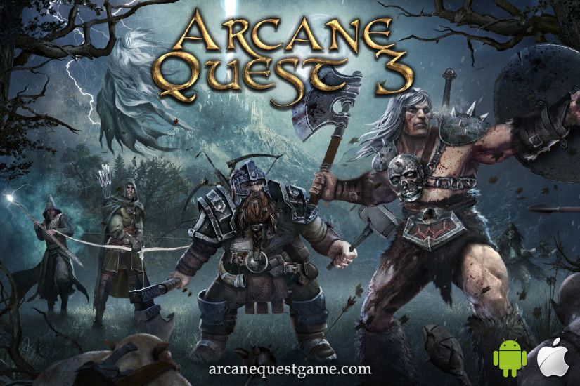 Arcane Quest 3 - Wallpaper Full HD 01