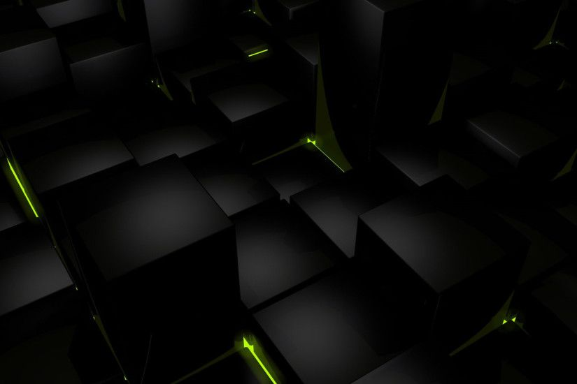 Green And Black Images 5 Wide Wallpaper
