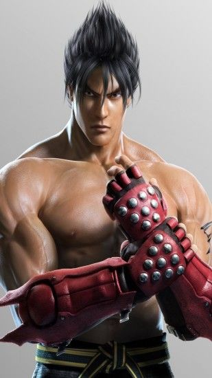 1080x1920 Wallpaper jin kazama, tekken, game, fighter, gloves