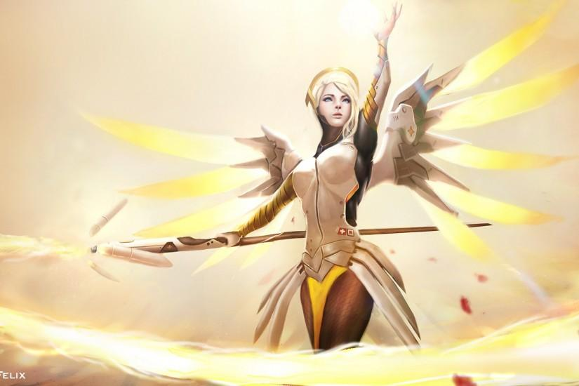 top mercy overwatch wallpaper 1920x1080
