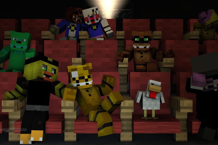 Filename: minecraft_theater_gift_wallpaper_by_foxymanmaster1987-d9jzb1y.png