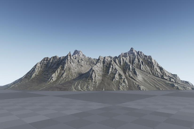 Background Mountains by Manufactura K4 in Environments - UE4 Marketplace