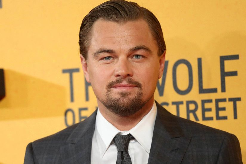 Leonardo DiCaprio - The Wolf of Wall Street red carpet 3840x2160 wallpaper