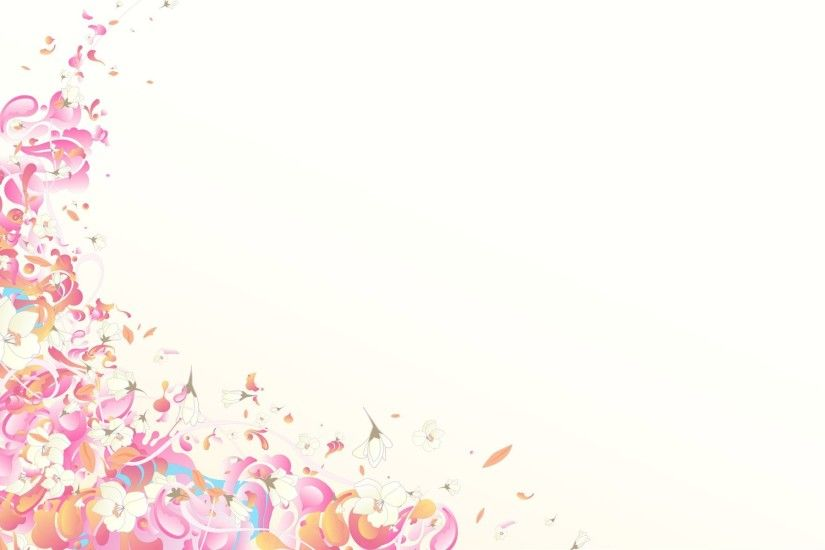 Pink Flower Background 267050