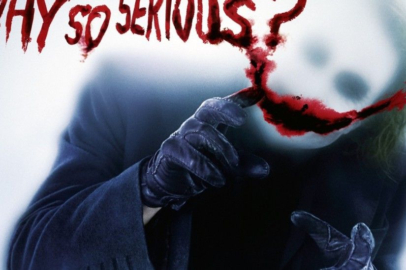 Joker Why So Serious Wallpapers Widescreen ~ Sdeerwallpaper