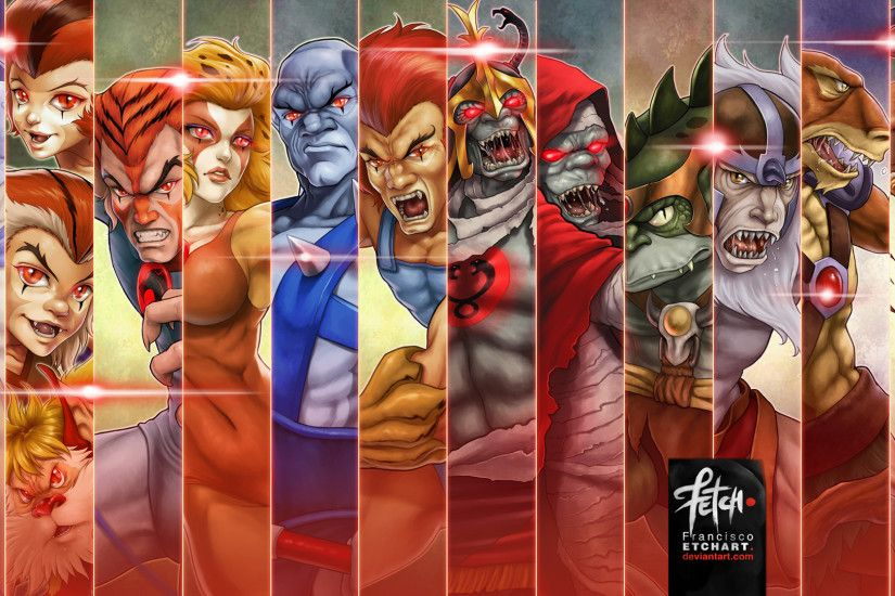 Thundercats Wallpaper by franciscoETCHART