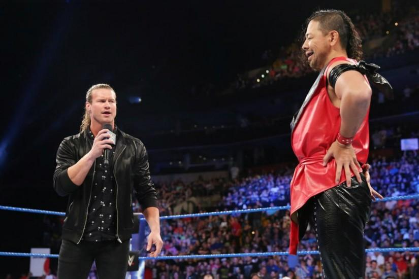 Shinsuke Nakamura decides to confront Dolph Ziggler on just his second  night on Smackdown